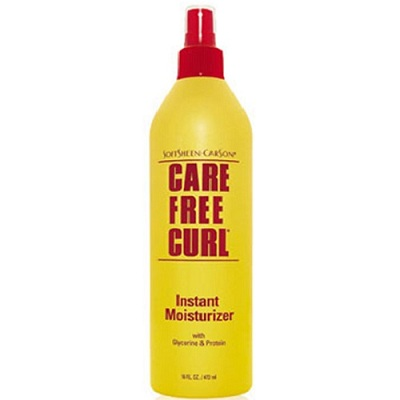 Care Free Curl Gold On Natural Hair
