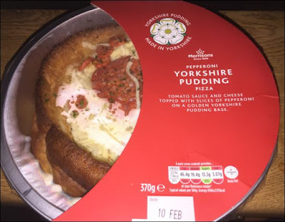 Morrisons Yorkshire Pudding Pizza