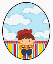 Toy Story Babies Toppers or Free Printable Candy Bar Labels.