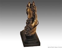 horse sculptures, equine artworks, horse art