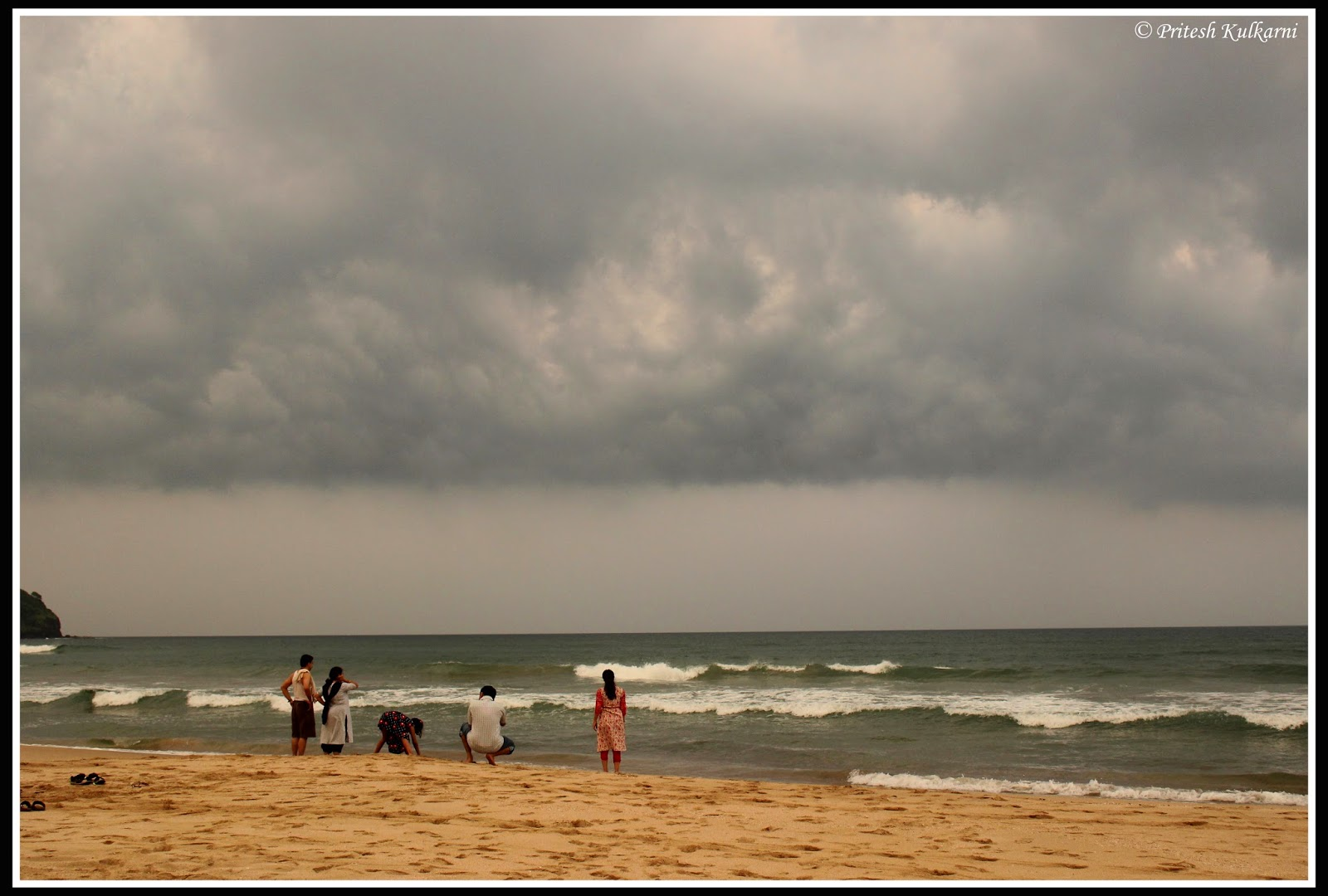 Drastic change in weather was amazing treat to eye - GaneshGule  Beach