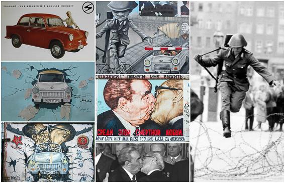 Imágenes del muro de Berlín. East Side Gallery. Berlin en 4 dias