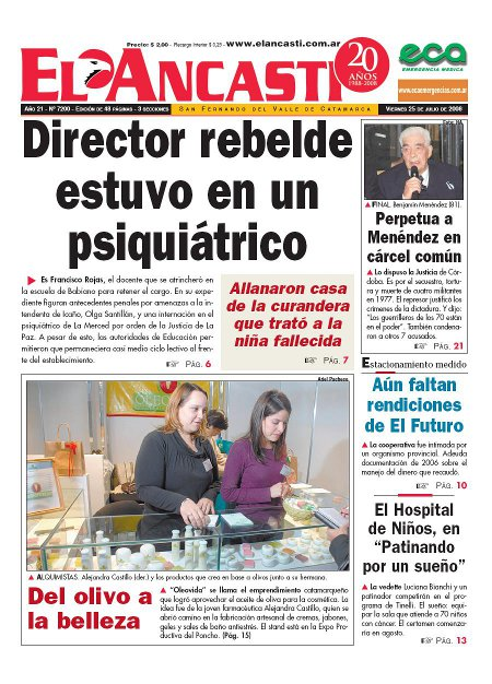 Catamarca Comercial Diarios