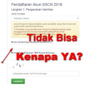 Pertanyaan yang sering ditanyakan saat daftar SSCN 2018