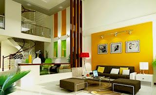 Nội thất phòng khách trong từng không gian