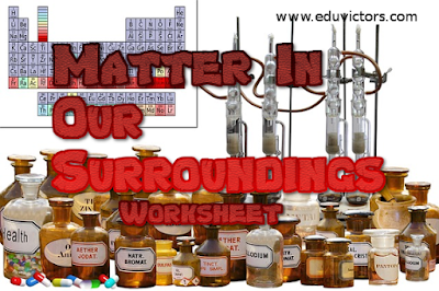 CBSE Class 9 - Chemistry - MATTER IN OUR SURROUNDINGS (Worksheet) (#cbsenotes)