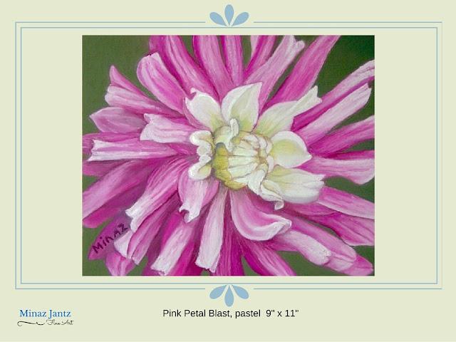 Pink Petal Blast By Minaz Jantz