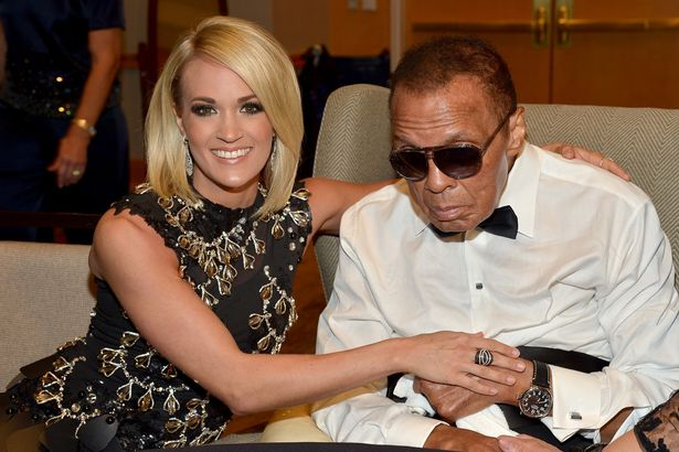 Muhammad Ali's last picture with Carrie Underwood