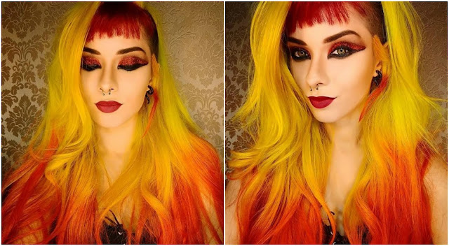brazilian-instagrammer-thais-maia-red-fire-hair