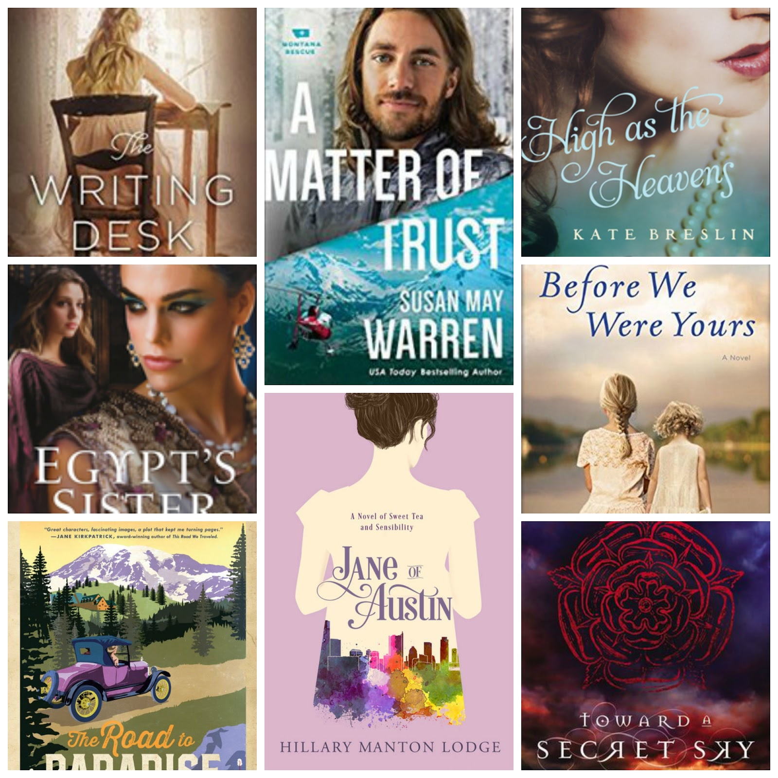 Radiant Light Top Ten Tuesday Summer Reads Freebie