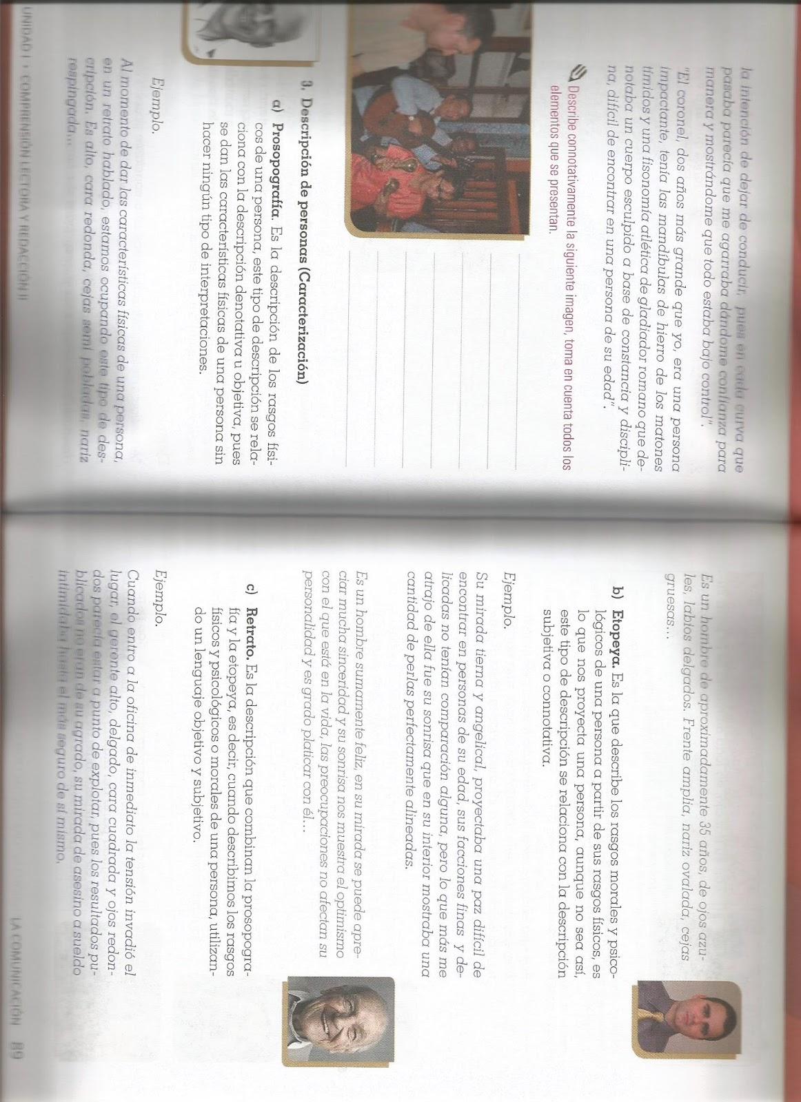 Comprensión Lectora II: tarea del 29 de feb-3 de marzo