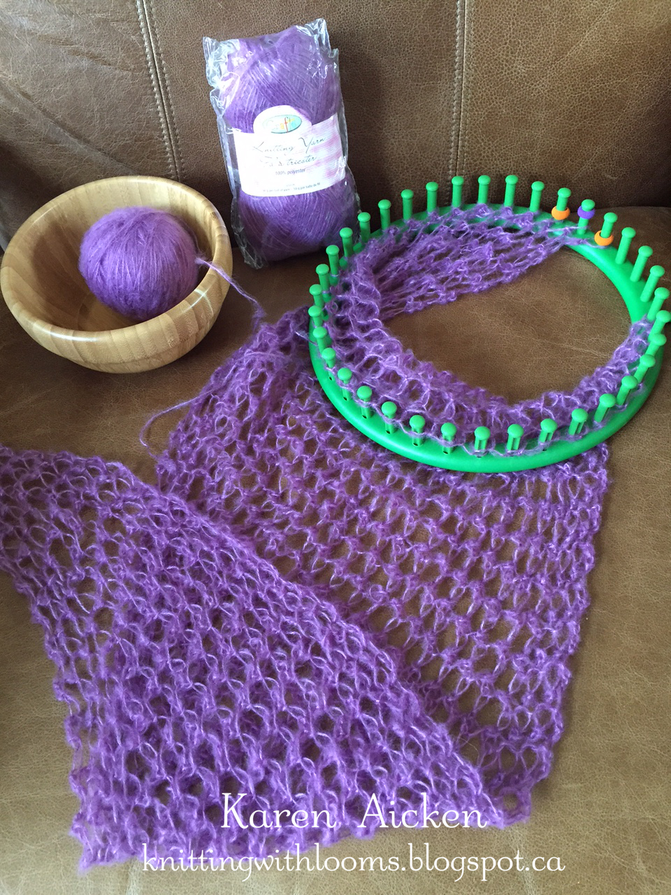Knitting With Looms
