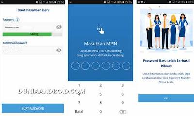 proses ganti sandi mobile banking