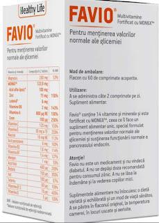 favio vitamine glicemie forum pareri