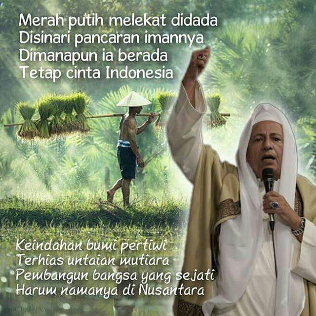 Cinta Tanah Air, Sebuah Puisi oleh Habib Muhammad Luthfi bin Yahya