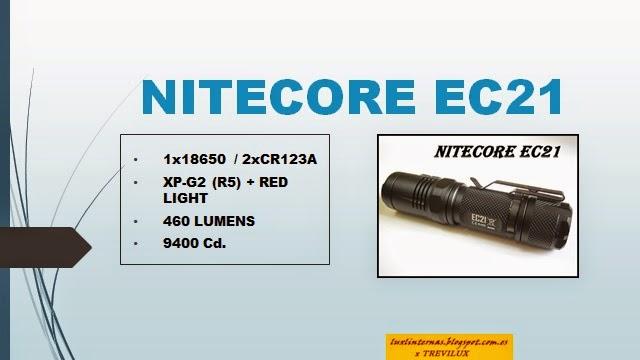 Nitecore EC21 luxlinternas@blogspot.com.es