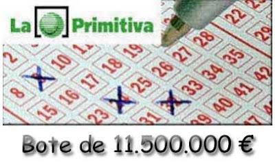 loteria primitiva del sábado 11 de marzo de 2017