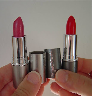 Mirabella Beauty Lip Colour (Fleur) and Colour Sheer (Chasharella) Lipsticks.jpeg