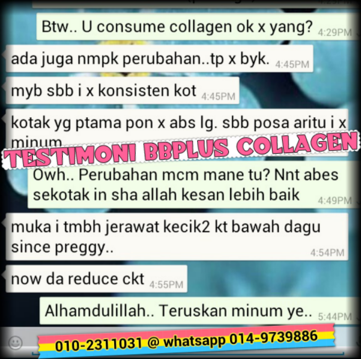 BBplus collagen testimonial 2