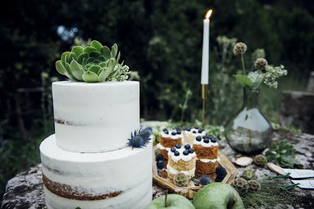 blog mi boda - majestic greenery - tarta dulce roseta
