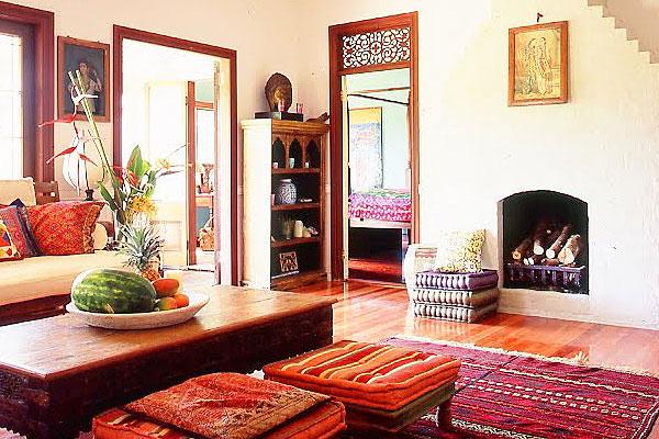 Inspira o tem tica 1 estilo indiano na decora o for Arredamento indiano