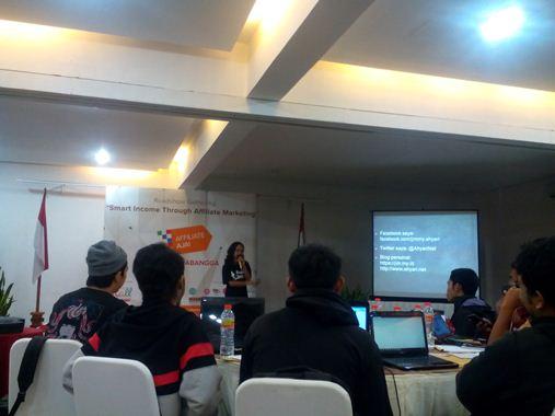 Gathering Blogger Garut bersama MatahariMallcom
