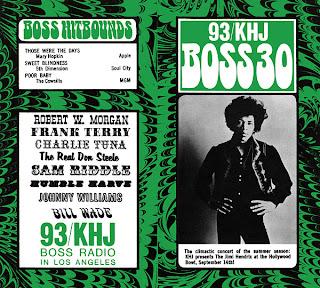 KHJ Boss 30 No. 167 - Jimi Hendrix