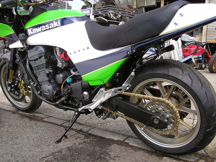 Racing Caf U00e8  Kawasaki Gpz 1100  2 By Auto Magic