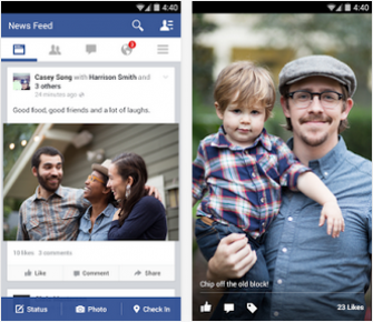 Facebook v35.0.0 Apk Screenshot