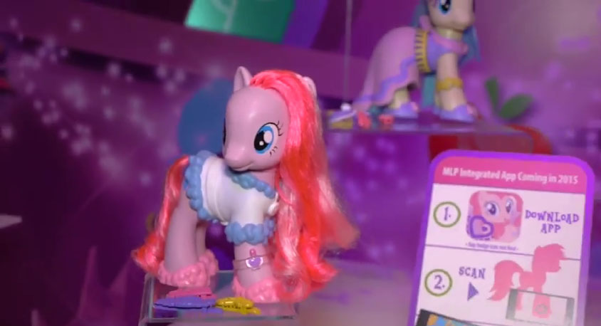 Pinkie Pie Fashion Style Brushable at NY Toy Fair 2015