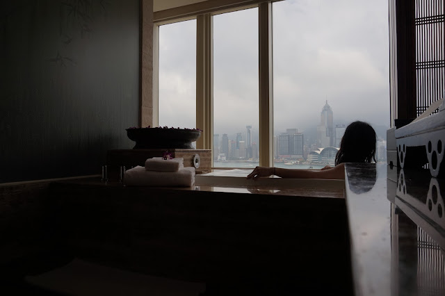 The Peninsula Hotel Hong Kong HK spa massage facial private suite view hong kong harbour