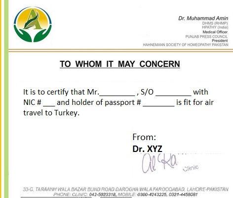 Sample medical certificate letter militaryalicious sample medical certificate letter yelopaper Choice Image