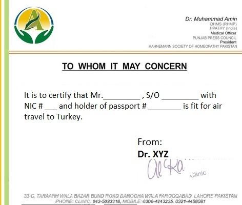 Medical Certificate Template free medical certificate doctor 39 s – Medical Certificate Format