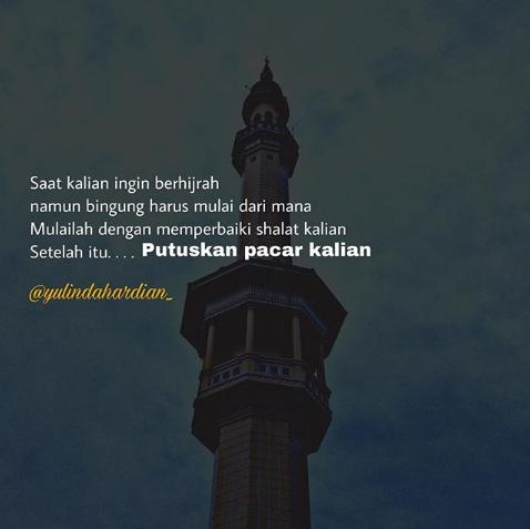 Kata Mutiara Hijrah Dan Istiqomah Quotemutiara