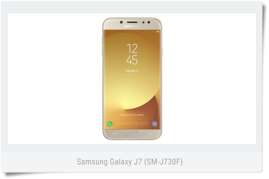 Stock nougat firmware Samsung Galaxy J7 SM-730F BOG France
