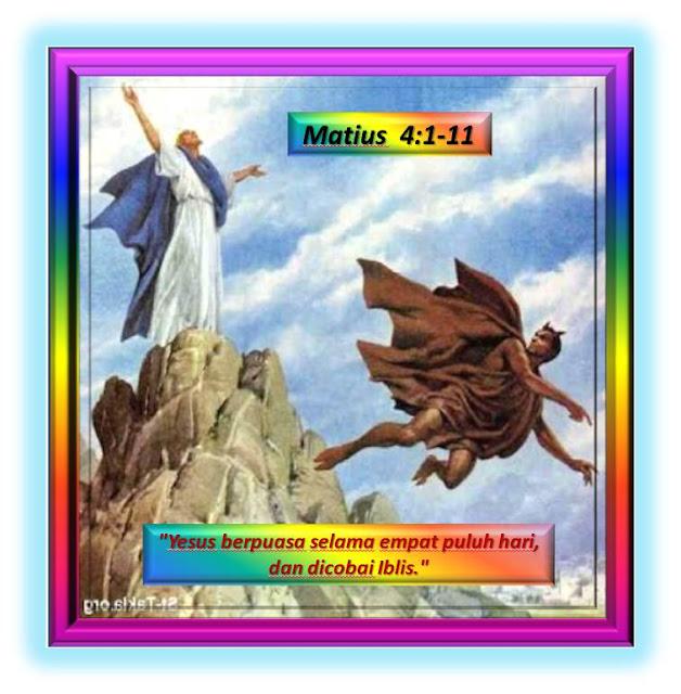 Matius 4:1-11