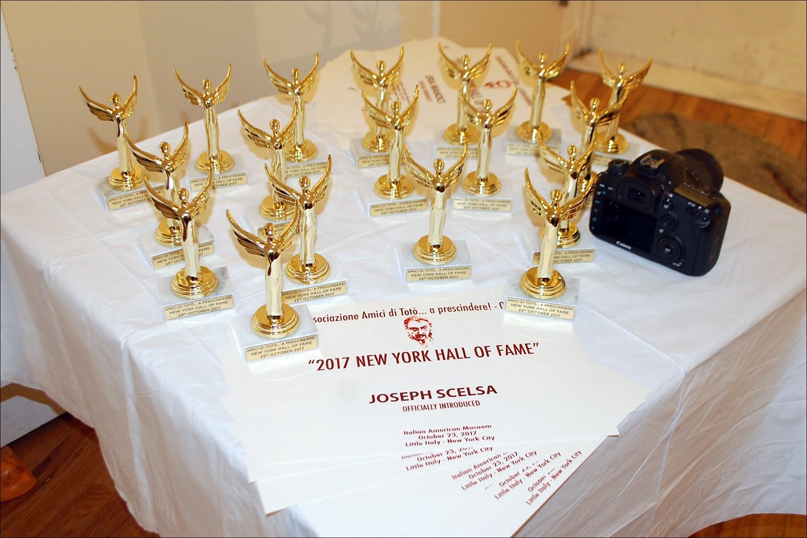 """Il Regno: The Associazione Amici di Totò\'s """"New York Hall of Fame ..."""