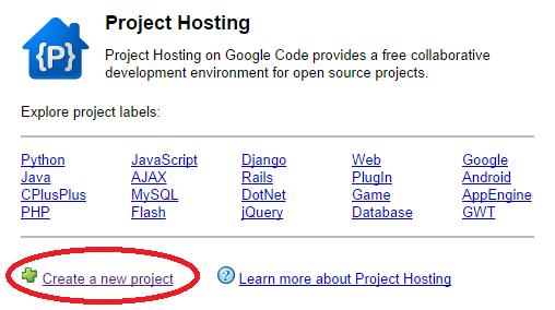 Cara Terbaru Menyimpan File Javascript di Google Code