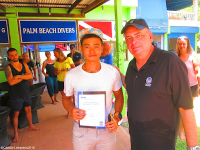 Testimonial by Collin of the April 2016 PADI IDC on Koh Lanta