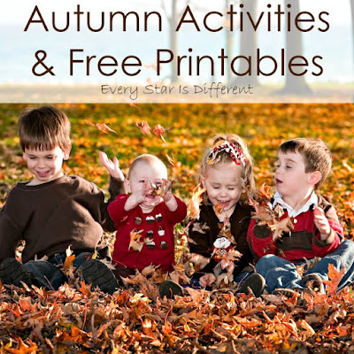 Autumn Activities & Free Printables
