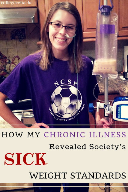 My Chronic Illness Revealed Society's Sick Weight Standards