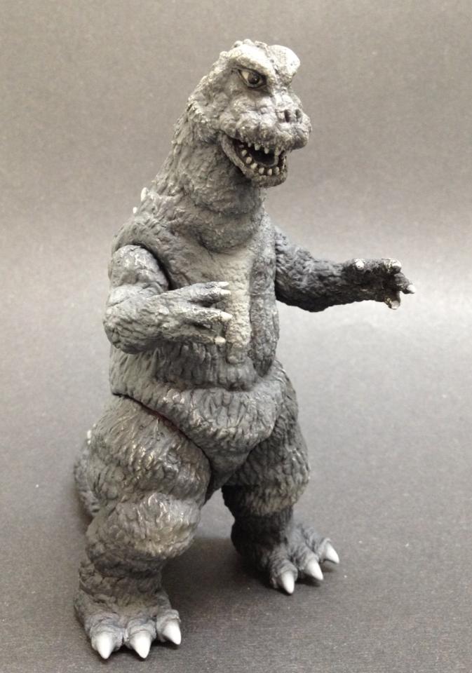 Kaiju Battle Y Msf Ex B Amp W Classics Godzilla 1967