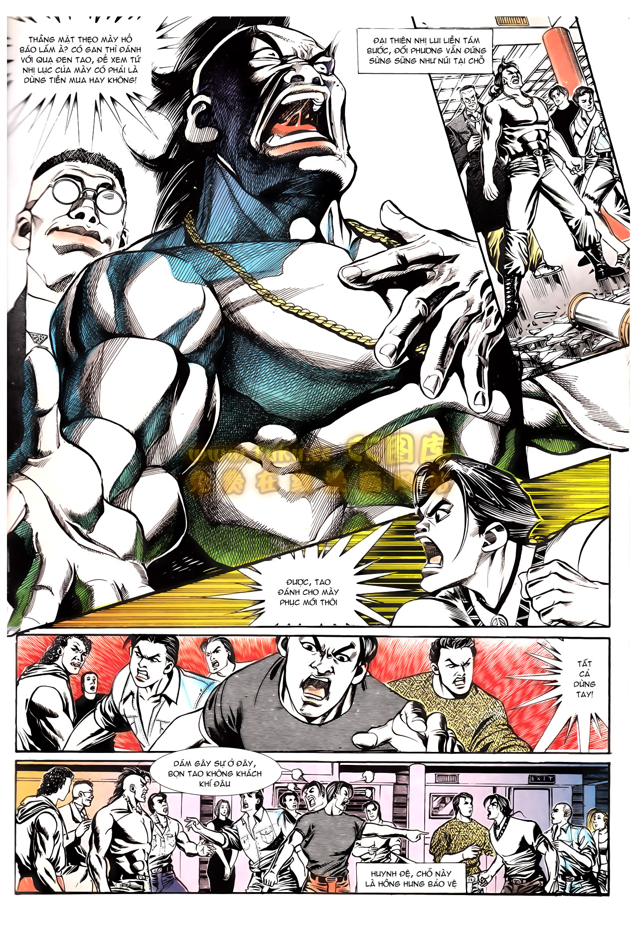Người Trong Giang Hồ chapter 162: cưa đại tẩu trang 10