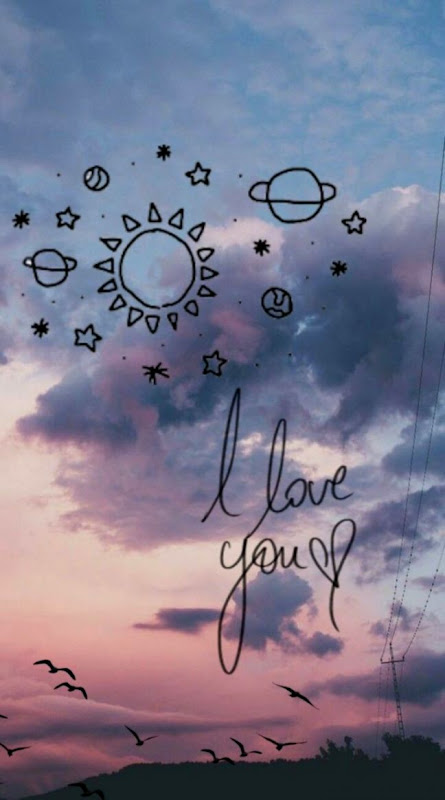 galaksi galaksy galaxy tumblr wallpaper bts love