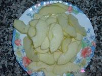 Manzana laminada