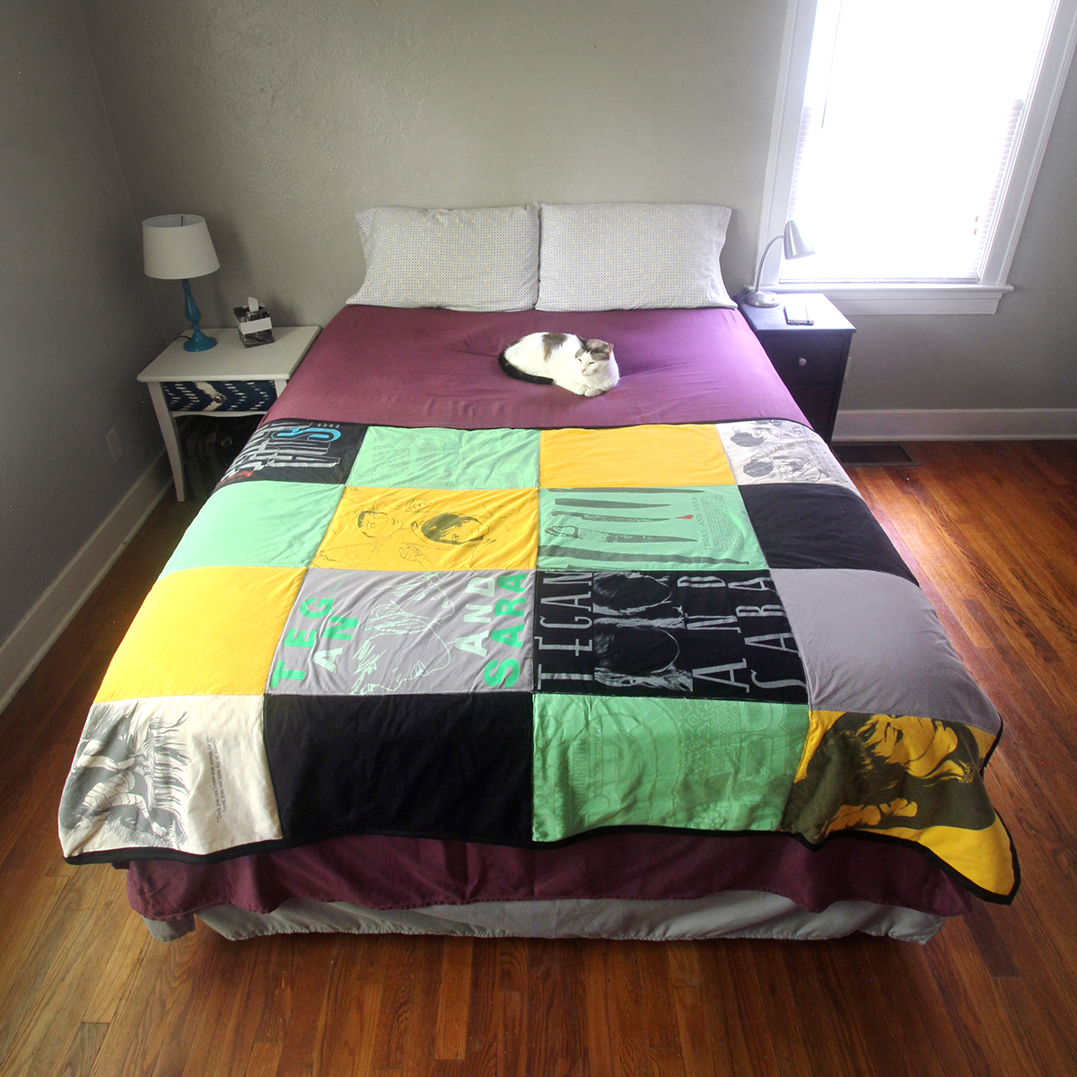 How to make your own t-shirt quilt