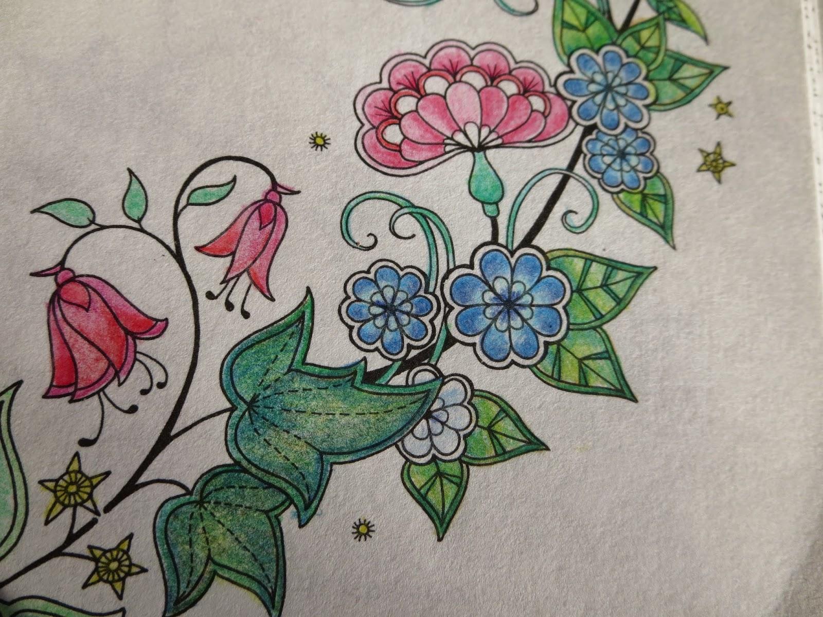 Passion For Pencils My Secret Garden Colouring Book Part 1