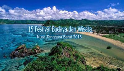 15 Festival Wisata Budaya Nusa Tenggara Barat 2016