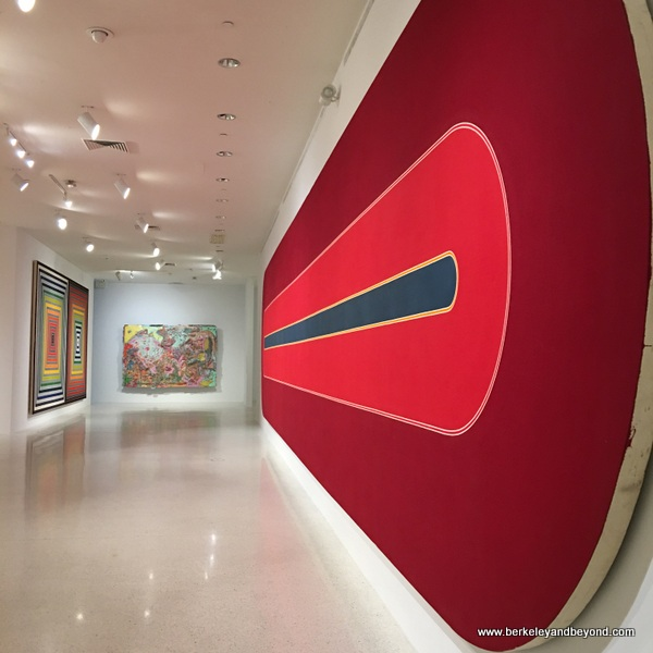 Frank Stella show at NSU Art Museum in Fort Lauderdale, Florida