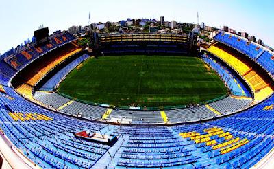 Los 10 mejores estadios de Fútbol - La Bombonera